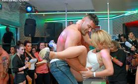 Ostra zabawa na sex imprezie